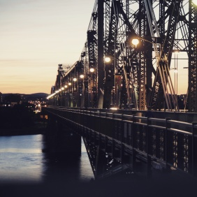 Alexandra Bridge, Ottawa (Snapseed)
