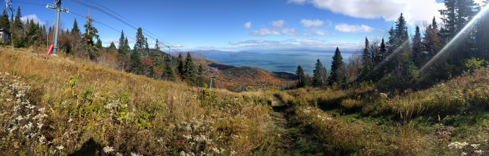 Panoramic from Le Massif, Charlevoix - Nexus 5 X (Snapseed)
